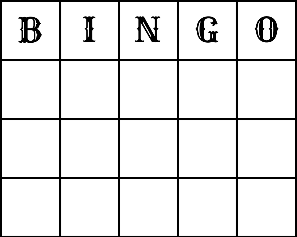 Make // Free Wedding Bingo Printout (and Epson XP212 review)